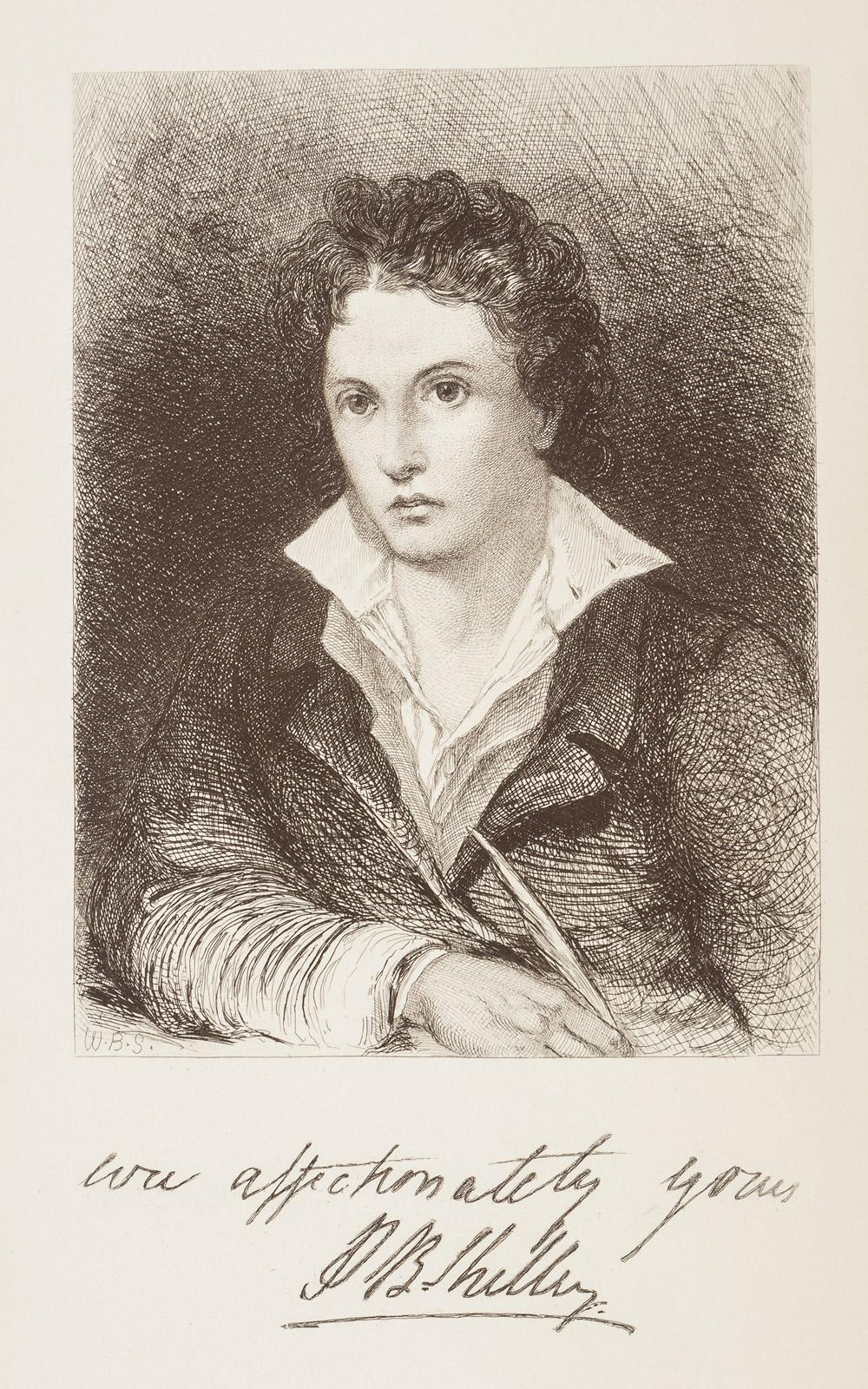 to wordsworth shelley